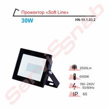 Прожектор LED RIGHT HAUSEN Soft  30W 6500K IP65 черный HN-191032